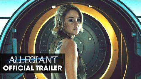"""The Divergent Series Allegiant Official Trailer – """"Tear Down The Wall""""-0"""
