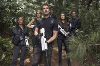 Still Leal Tobias, Tris, Christina, Tori, Caleb y Peter