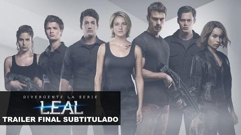Divergente La Serie Leal - Tráiler Final Subtitulado (2016)