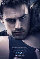 Poster Leal Cuatro abrazando a Tris