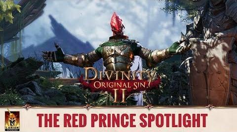 Divinity Original Sin 2 - Spotlight Origin Stories - The Red Prince