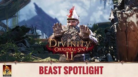 Divinity Original Sin 2 - Spotlight Origin Stories - Beast