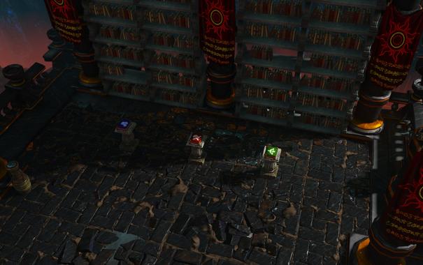 DOS Quest The Cave of Portals - Treasure.png
