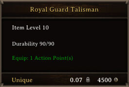 DOS Items Quest Royal Guard Talisman.jpg