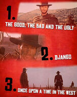 Top Three Westerns