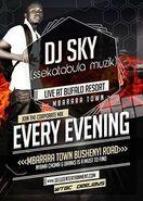 Deejay sky live at Bufalo Resort