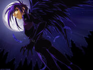Dark Mousy with moon anime