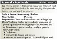Accerak's Apotheosis