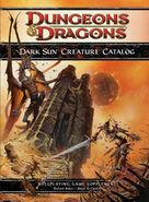 Dark Sun Creature Catalog front cover