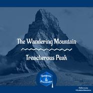 Treacherous Peak Cover Art