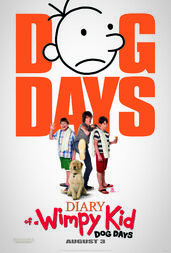 Dog days poster featuring sweetie the dog.jpg