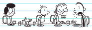 Frank lectures Gary Heffley on using all his money to buy Scratch Cards