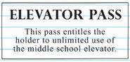 Elevator Pass