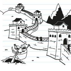Greg and Rowley see The Great Wall of China.jpg