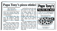 Papa Tony's in The Neighbourhood Tattler