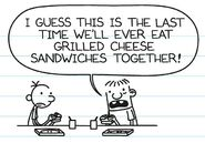 Last time eating together