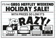 Greg Heffley Weekend Holiday Sale
