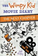 The Wimpy Kid Movie Diary The Next Chapter cover