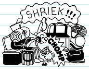 The Heffley's Pig bites Greg as he shrieks