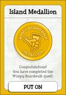 Wimpy Boardwalk Island Medallion