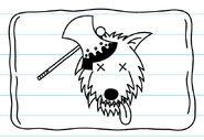 Dead wolf flag