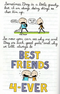 Do-It-Yourself Book Diary of an Awesome, Friendly Kid 6