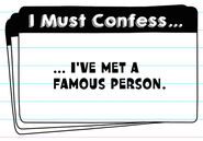I Must Confess flash cards