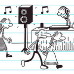 A few kids paired up as couples while Gary Heffley the DJ announced that next song will be last.jpg