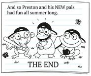 Preston Platypus Says Farewell Ending
