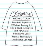Krisstina's World Tour T-shirt