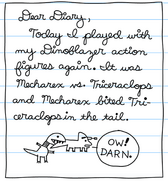 Rowley Diary Page 1