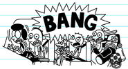 The Heffley Family startled when they hear a loud bang