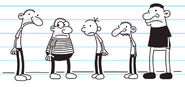 Greg and the boys do not have a partner with girls