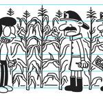 Greg and Susan are lost in the corn maze as firemen found them.jpg
