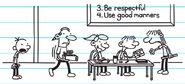 Greg's worst nightmare in kindergarten knowing how to do stuff