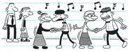 Valentine's Day Dance overrun by senior citizens