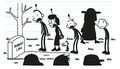 The Heffley Family are shocked to see Robert Law as the wrong funeral