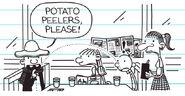 Potato peelers, please!