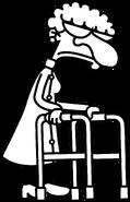 Poptropica Wimpy Wonderland OldPersonWalker
