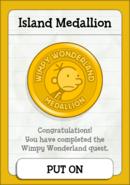 Wimpy Wonderland Island Medallion