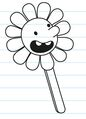 Greg's paper flower