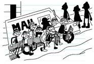 Lower Surrey Street Kids being sneaky