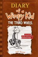 Diary of a Wimpy Kid: The Third Wheel (Brown)