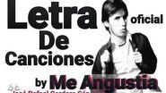 José Rafael Cordero Sánchez - Me Angustia (Letra)