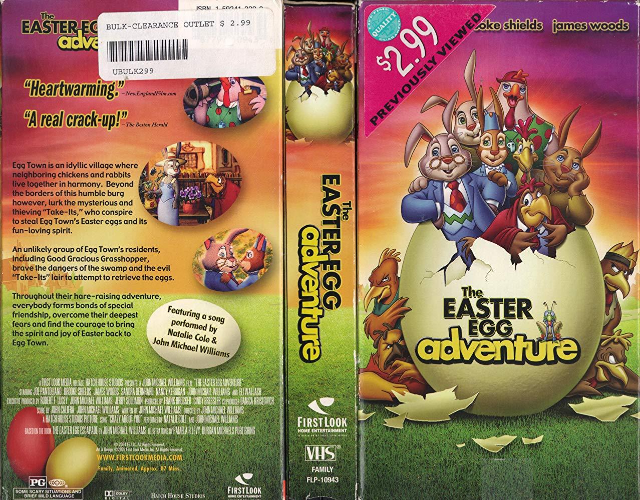 Las aventuras del huevo de Pascua