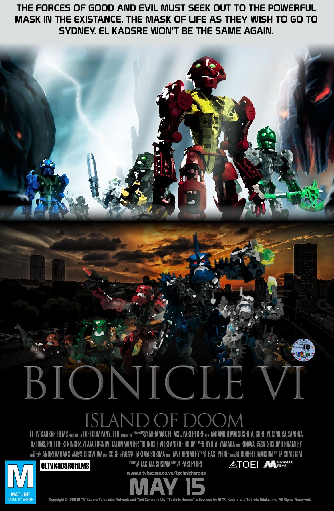 Bionicle VI: La isla de la perdición