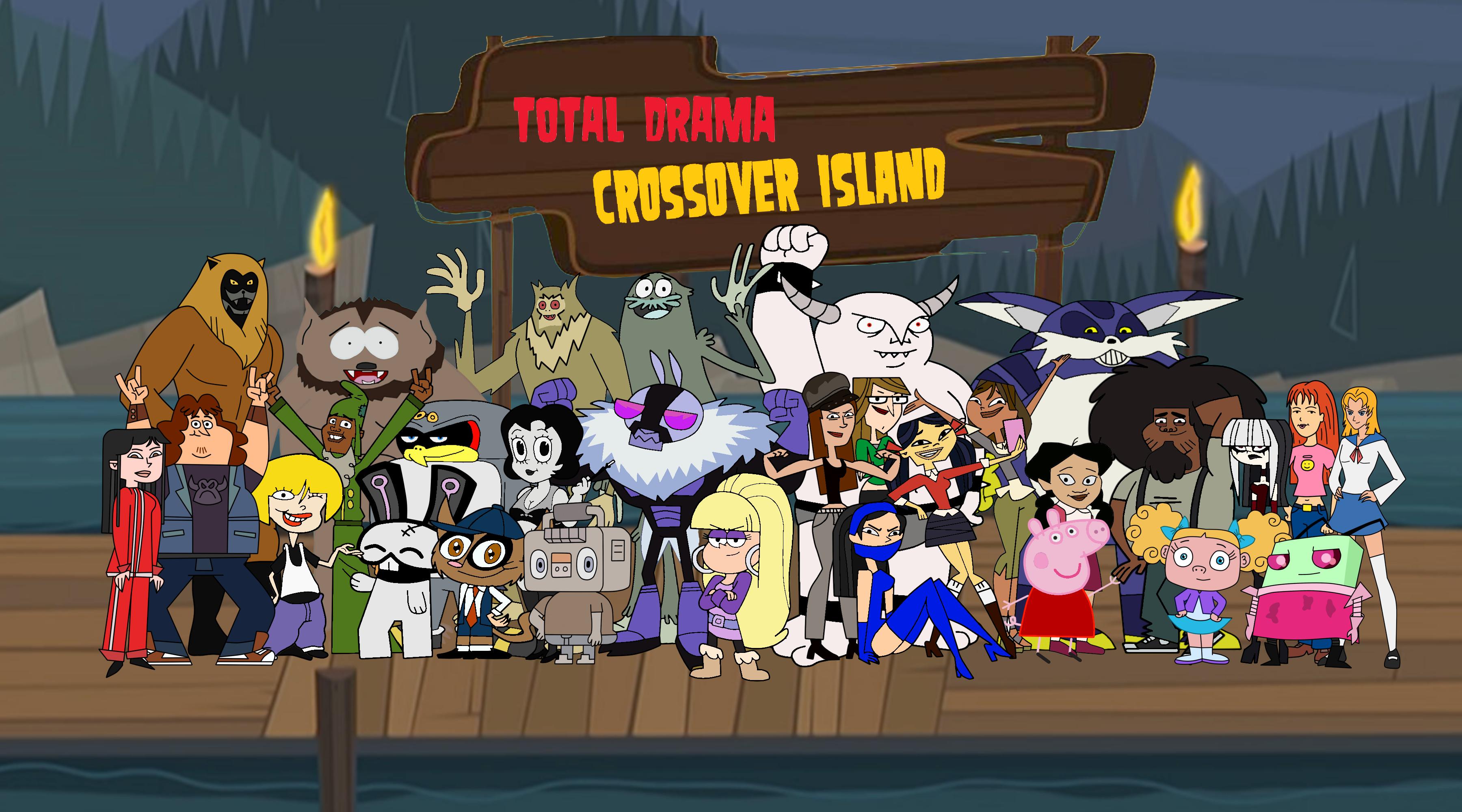 Drama Total: Isla Crossover