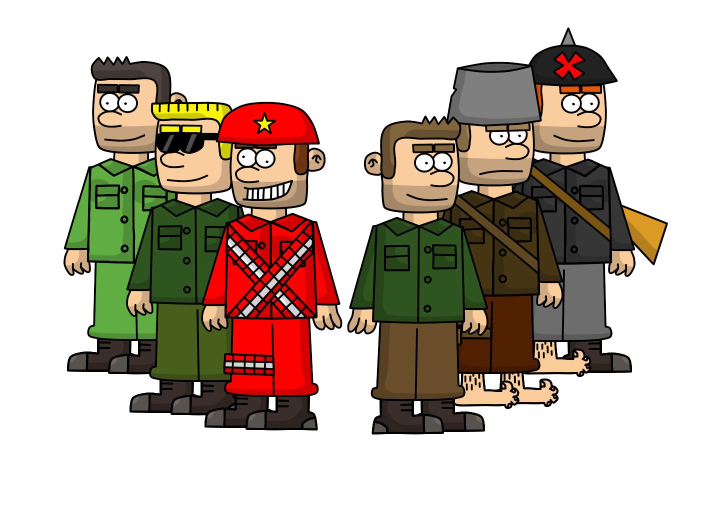 Claudy en la Guerra