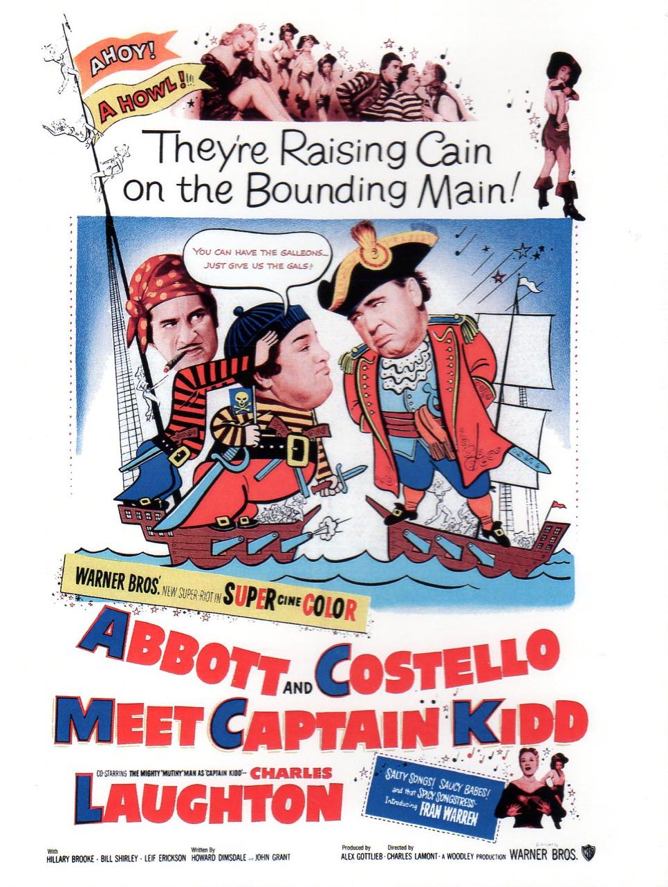 Abbott y Costello: Conozcan al capitán Kidd