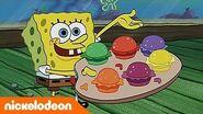 Bob Esponja Cangrebúrguers de Colores Nickelodeon en Español